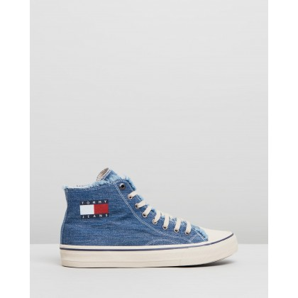 High Top Sneakers - Men's Denim by Tommy Jeans