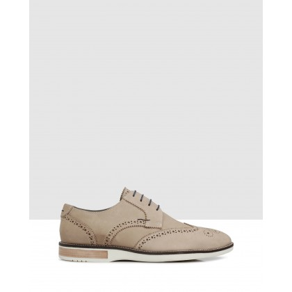 Higino Brogues Grey by Brando