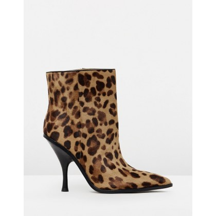 Hongy Boots Camel by Sigerson Morrison