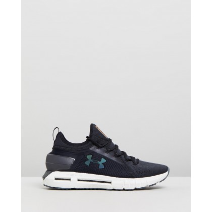 HOVR Phantom - Men's Black & Onyx White by Under Armour