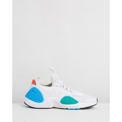 Huarache E.D.G.E. - Men's Vast Grey, Photo Blue & Tour Yellow by Nike