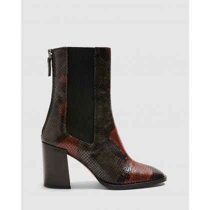 Huntington Boots Multi by Topshop