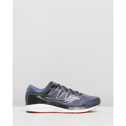 Hurricane ISO 5 - Men's Grey & Black by Saucony