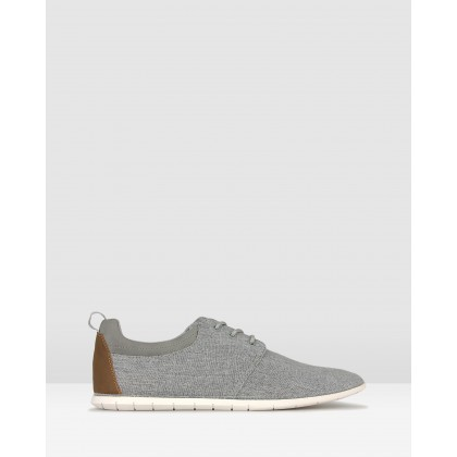 Hurry Lace Up Lifestyle Shoes Grey by Zu