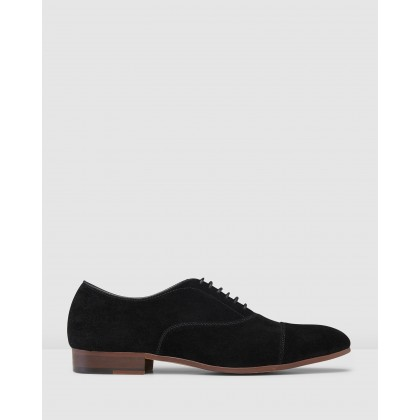 Huxley Lace Ups Black by Aq By Aquila