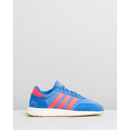 I-5923 - Men's True Blue, Shock Red & Gum by Adidas Originals