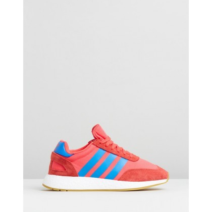 I-5923 - Women's Shock Red, True Blue & Gum by Adidas Originals