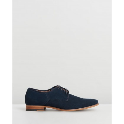 Idolise Derby Navy Suede by Office