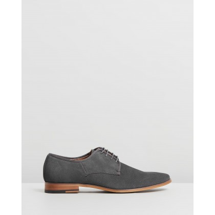 Idolise Derby Grey Suede by Office