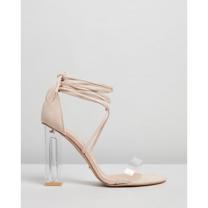 Imaan Nude Suede by Billini