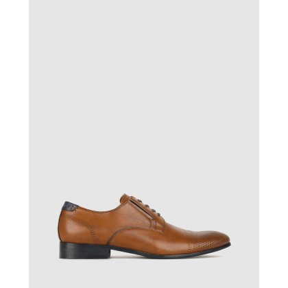 Impact Derby Dress Shoes Tan by Betts
