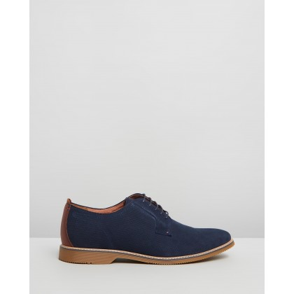 Impala Navy Embossed by Florsheim