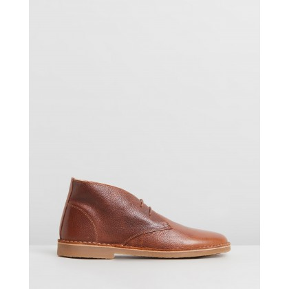 Inferno Boots Tan Leather by Office