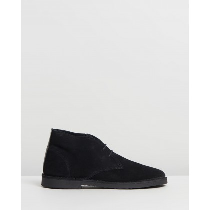 Inferno Boots Black Suede by Office