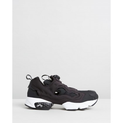 Instapump Fury - Unisex Black & White by Reebok