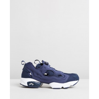 Instapump Fury - Unisex Collegiate Navy & White by Reebok