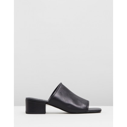 Inverse Mules Black by Sol Sana