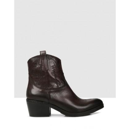 Irma Ankle Boots T.MORO by Sempre Di