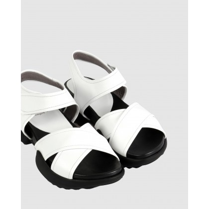 Isabel Flatforms White 106 by S By Sempre Di