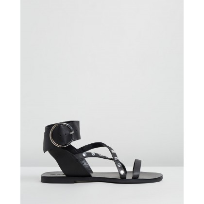 Isabel Sandals Black by Sol Sana