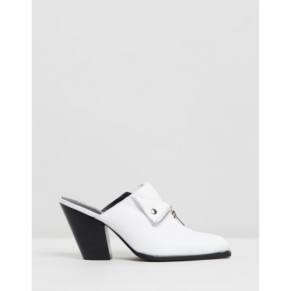 Isabella Mules White by Sol Sana