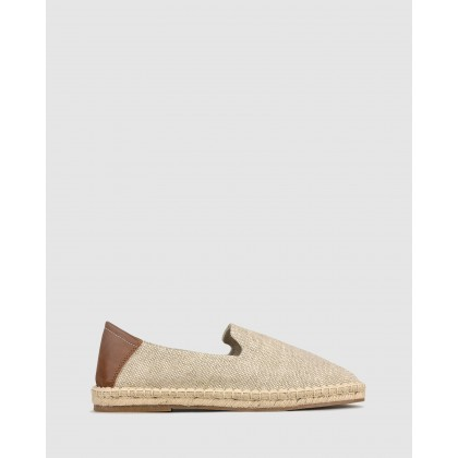 Island Slip On Espadrilles Natural by Zu