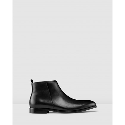 Islington Ankle Boots Black by Aquila