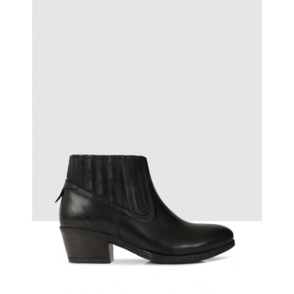 Ivetta Ankle Boots Black by S By Sempre Di