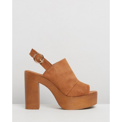 Ivy Tan Faux Suede by Therapy