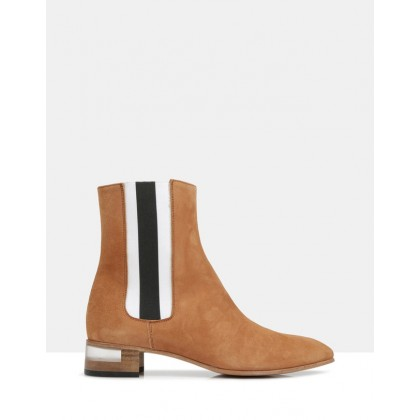 Ivy Ankle Boots Camel 6088 by Beau Coops