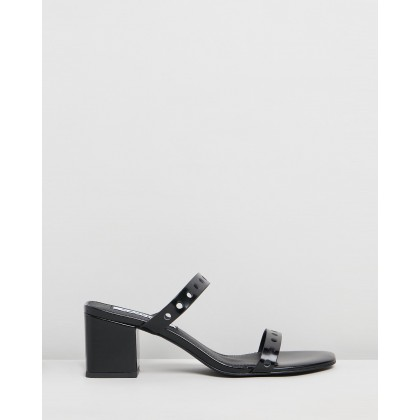 Ivy Mules Black by Caverley