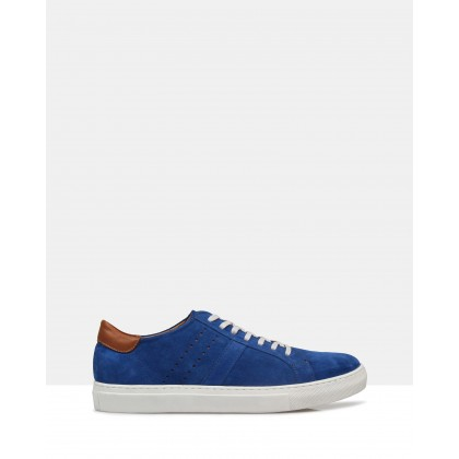 Jack Suede Sneakers Blue by Brando