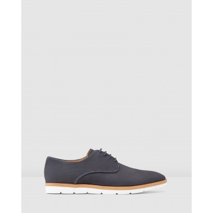 Jackman Lace Ups Navy by Aquila