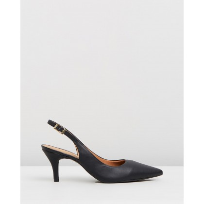 Jade Slingback Pumps Black by Vizzano