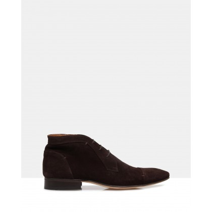 James Suede Boots Brown by Brando