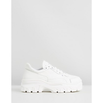 Jaxstar Leather Sneakers White by Bronx