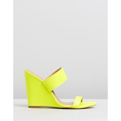 Jensen Wedges Yellow Neon by Spurr
