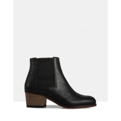 Jerry Ankle Boots BLACK by Beau Coops