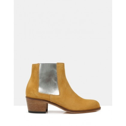 Jerry Ankle Boots Tobacco 1240 by Beau Coops