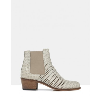Jerry Ankle Boots Grey by Beau Coops