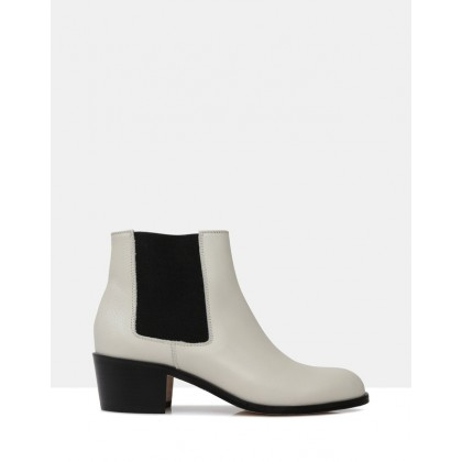 Jerry Ankle Boots LIGHT GREY 3330 by Beau Coops