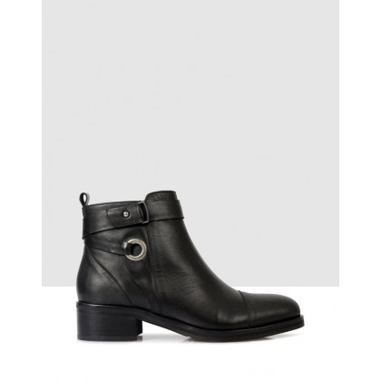 Jessy Ankle Boots 7901 Black by S By Sempre Di