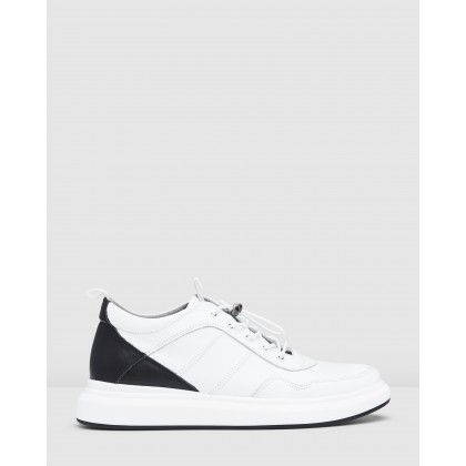 Jetson Sneakers White by Aquila