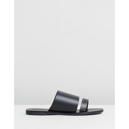 Jobe Slides Black Stud by Sol Sana