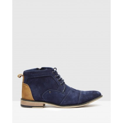 Johnnie Navy by Steve Madden