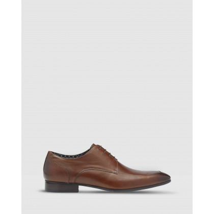 Jordan Leather Shoes Brown by Oxford