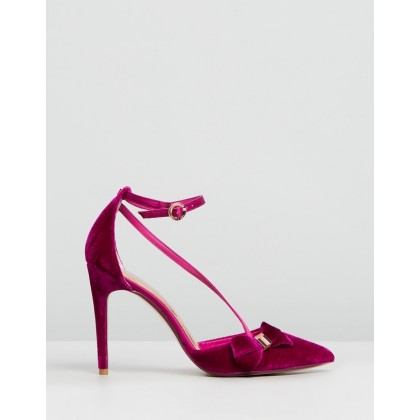 Juleta Cherry Velvet by Ted Baker