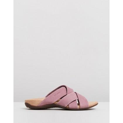 Juno Slide Sandals Dusk by Vionic