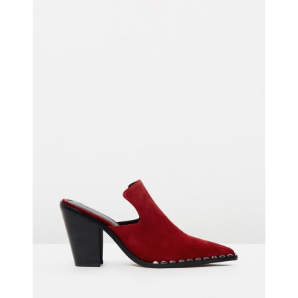 Kacey Heels Red by Sigerson Morrison
