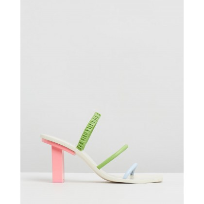 Kaia Heels Bubblegum Multi by Cult Gaia